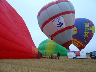Air balloons in Charente
